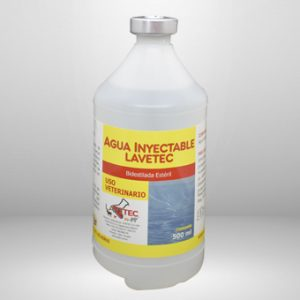 AGUA-INYECTABLE