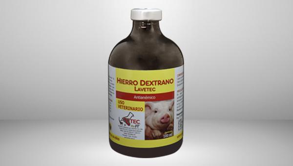 hierro dextrano lavetec